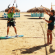 private kiteboarding lessons, jumping lessons or advanced kitesurfers
