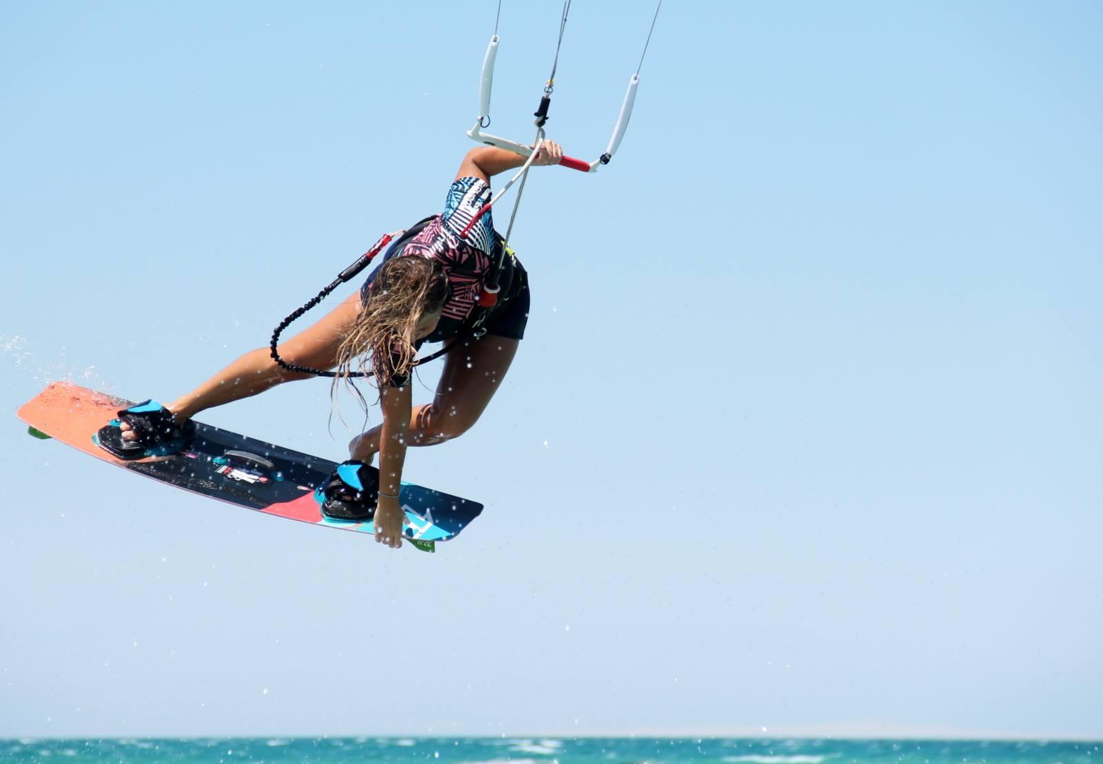 kite girl kitesurfing lessons egypt el gouna