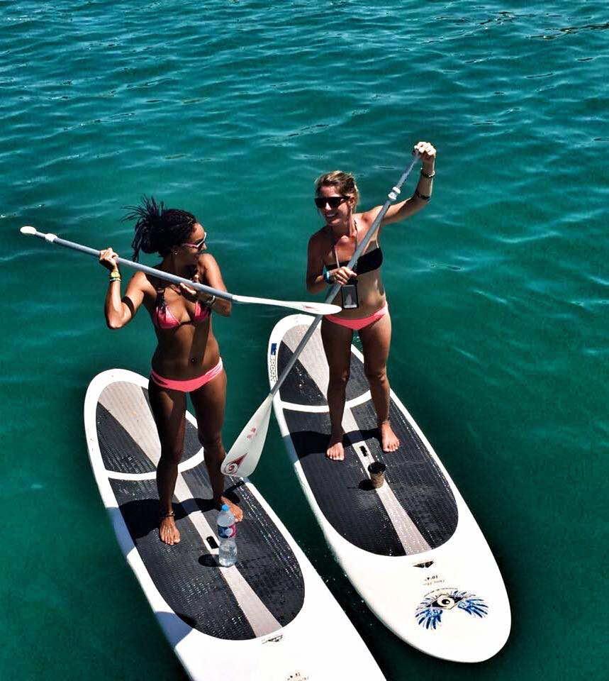 kitesurf event week paddling