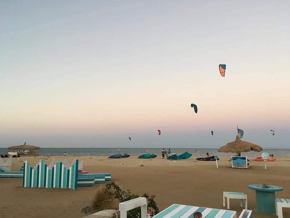 kiteboarding el gouna spot