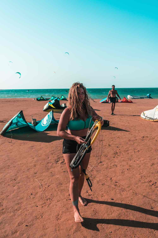 kite girl kitesurfing event week
