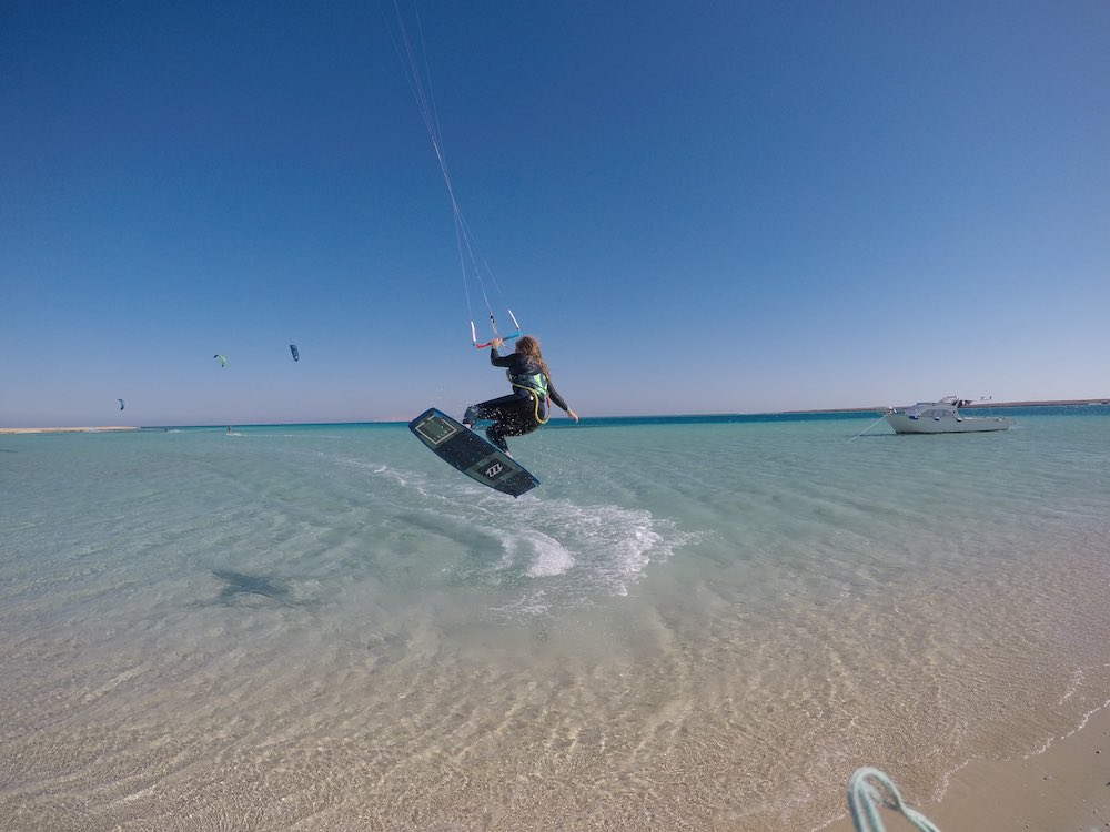 kitesurfing girl el gouna egypt event week