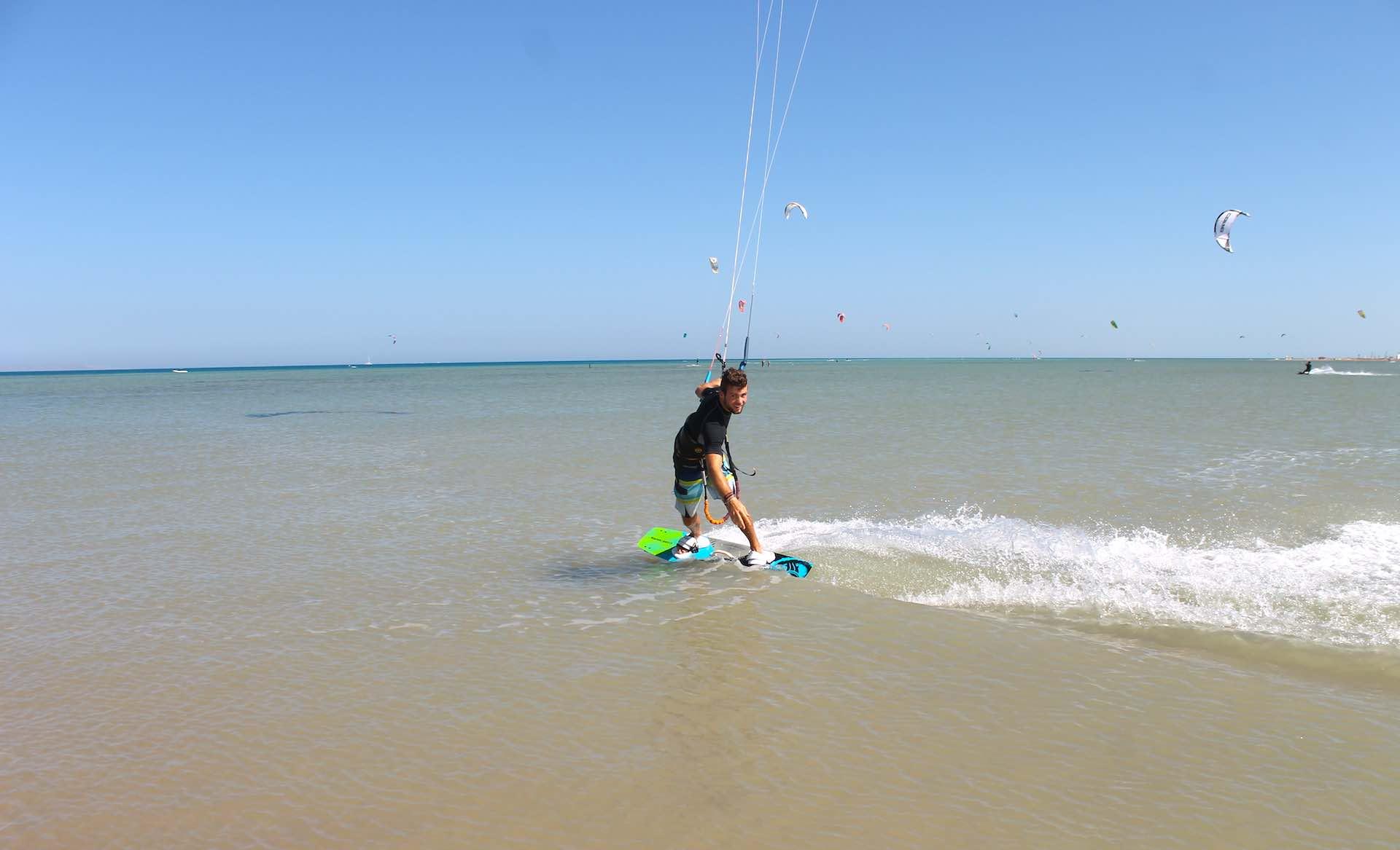 kitesurfing holidays egypt. Private kitesurfing lessons for advanced riders