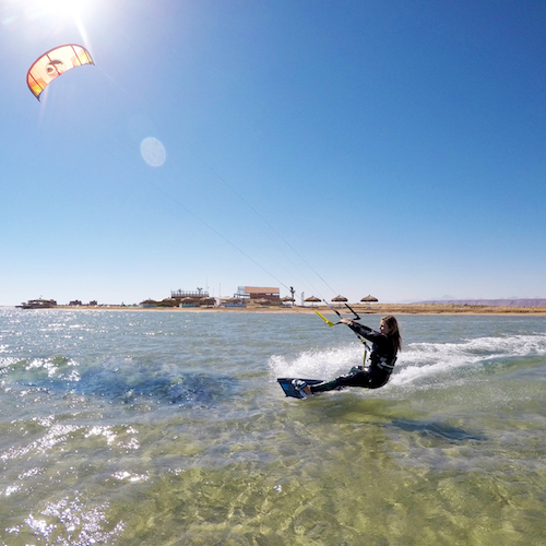 kitesurf camp in el gouna offered to women