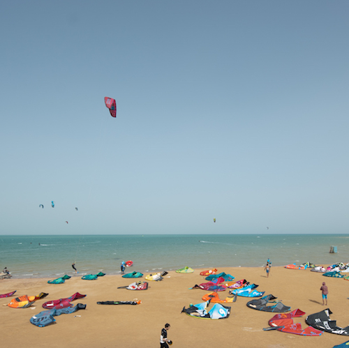 kite el gouna and have big empty lagoons