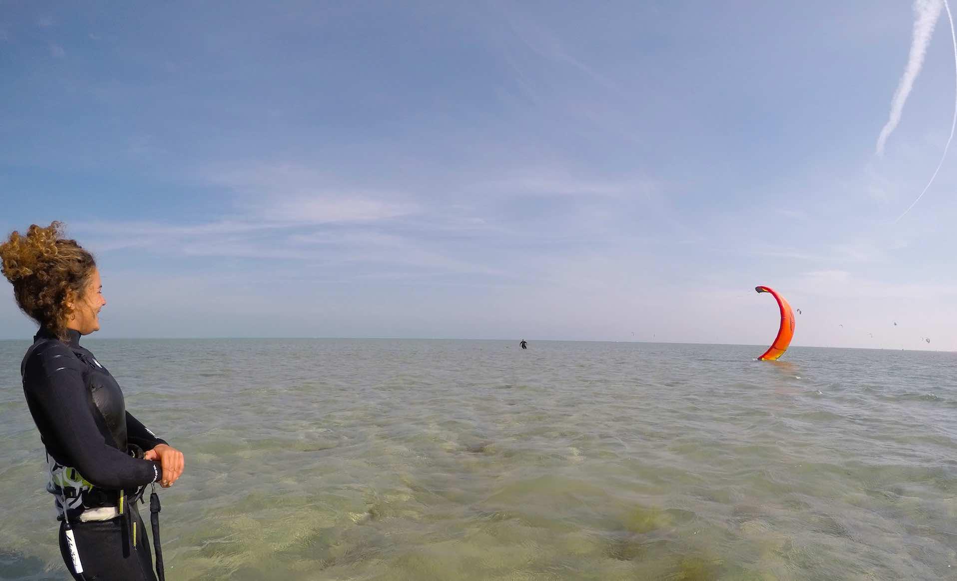 Kitesurfing events for girls