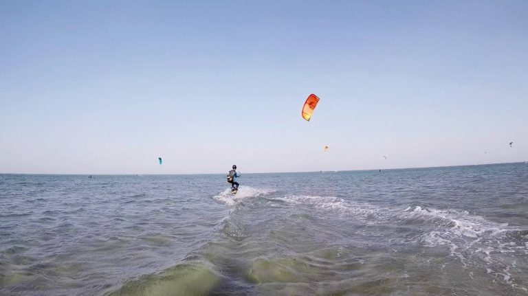 kite surf event week for kitesurfing group holiday
