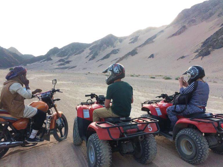 Kite camp, quad safari, Red Sea el gouna