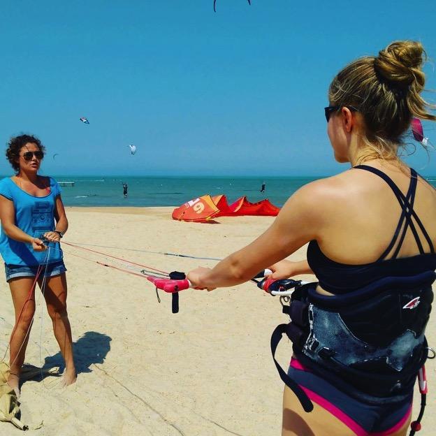 kitesurfing lessons egypt kite camp