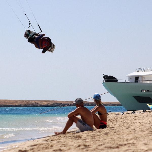 kitesurfing safari red sea egypt