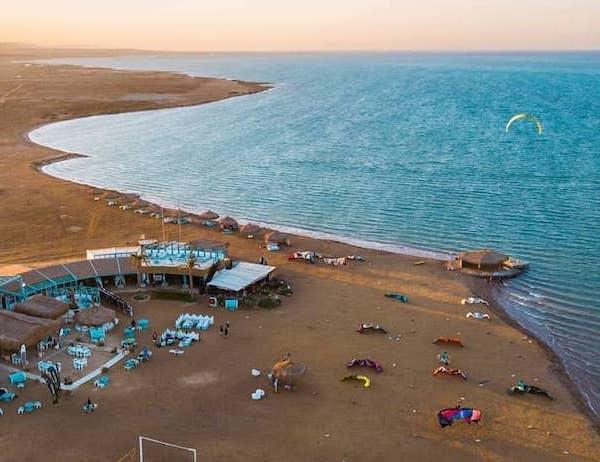 kitesurfing women camp el gouna