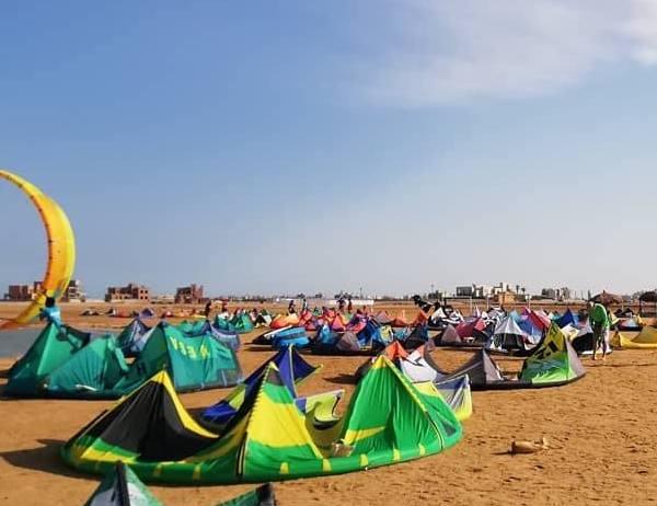 kitesurfing el gouna womens camp