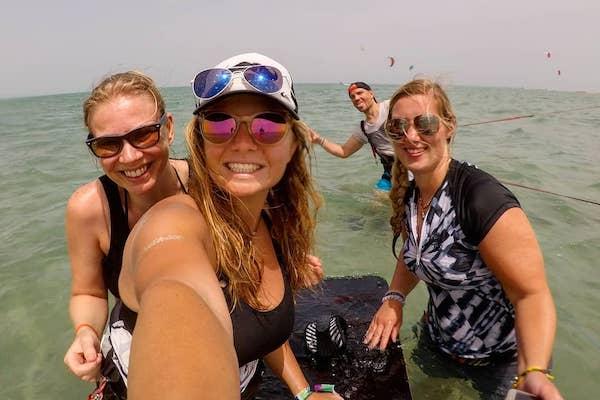 kitesurfing lessons el gouna egypt