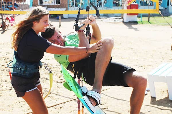 kitesurfing lessons el gouna